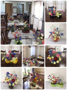 Fleur Juju 5月ケアハウスlesson